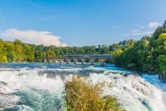 Водопад Швейцария Рейна стоковое фото