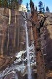 Водопады в парке АМЕРИКЕ Yosemite Стоковая Фотография RF