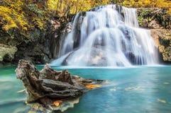 Водопады в Authum Стоковое Изображение