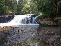 Водопады на национальном парке Phnom Kulen Стоковая Фотография RF