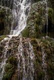 Водопады на Monasterio de Piedra, Сарагосе, Арагоне, Испании Стоковое Изображение RF