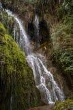 Водопады на Monasterio de Piedra, Сарагосе, Арагоне, Испании Стоковые Изображения RF