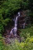 водопады на mt ненастно Стоковая Фотография
