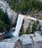 Водопады Невады в Yosemite Стоковая Фотография RF
