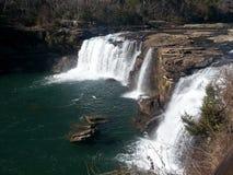 Водопады пропуская с обилием Стоковое Изображение RF