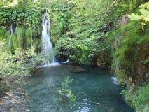 Водопады страны чудес стоковые фотографии rf