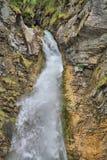 Водопады Словения Martuljski Стоковое Изображение RF