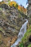 Водопады Словения Martuljski Стоковое Изображение