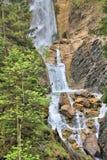 Водопады Словения Martuljski Стоковая Фотография
