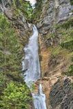 Водопады Словения Martuljski Стоковые Изображения RF