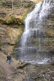 Водопады фотографа Стоковое Изображение RF