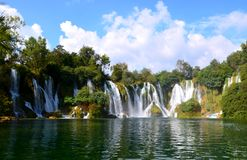 Водопады Стоковая Фотография