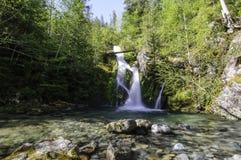 Водопады Cedar Creek - падения Sullivan Стоковая Фотография RF