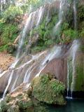 Водопады El Nicho Стоковое фото RF
