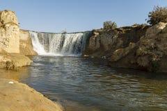 Водопады el-Rayan вадей Стоковое Фото
