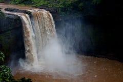 Водопады Geera - снятые в Гуджарате, Индии Стоковые Изображения