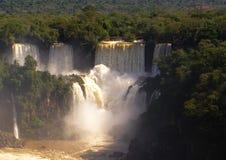Водопады Iguacu Стоковая Фотография RF