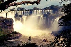 Водопады Iguazu, Misiones, Аргентина Стоковые Изображения RF
