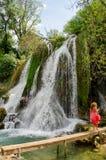 Водопады Kravice Стоковое Изображение RF