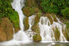 Водопады Krka (национальный парк Krka, Хорватия) Стоковое Изображение