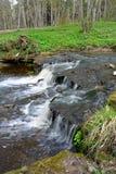 Водопады Laulasmaa Стоковое Изображение RF