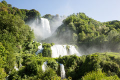 Водопады Marmore стоковое фото rf