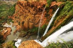 Водопады Ouzoud стоковое изображение