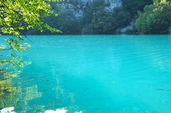 водопады plitvice национального парка озер Хорватии sostavtsy Стоковое фото RF