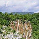 водопады plitvice национального парка озер Хорватия Стоковые Фотографии RF