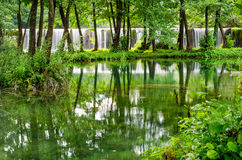 Водопады Pliva Стоковые Фотографии RF