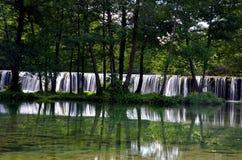Водопады Plivsko Стоковые Изображения RF