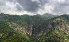 Водопады Thalaiyaru около Kodaikanal Стоковое фото RF