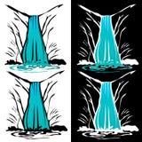 Водопад Бесплатная Иллюстрация