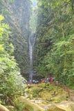 Водопад Ahuashiyacu Стоковая Фотография