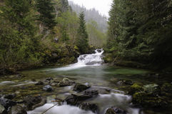 Водопад Cedar Creek в опаловом районе дикой природы заводи Стоковые Изображения RF