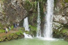 Водопад Cobadonga Стоковая Фотография