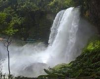 Водопад Dambri на летние дни Стоковое Изображение RF