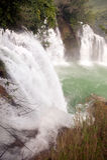 Водопад Datian (добродетельный водопад рая) в Китае Стоковое Фото