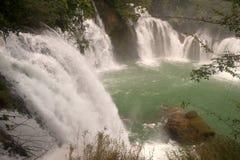 Водопад Datian (добродетельный водопад рая) в Китае Стоковые Фотографии RF