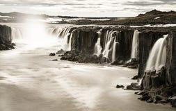 Водопад Dettifoss стоковое фото