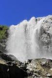 водопад dombay гор caucas alibek северный Горы Dombay Северное Caucas Стоковое фото RF