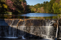 Водопад Dracut Стоковые Фото