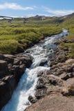 Водопад Dynjandi Стоковая Фотография