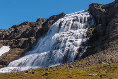Водопад Dynjandi Стоковое Изображение