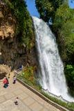 Водопад Edessa Стоковые Фотографии RF