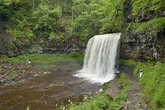 Водопад Eira Sgwd yr Стоковая Фотография