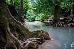 Водопад Erawan Стоковое Изображение