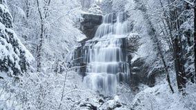 Водопад Evantail (Франция) Стоковая Фотография RF