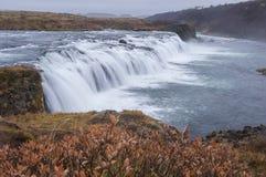 Водопад Faxafoss Стоковые Фото