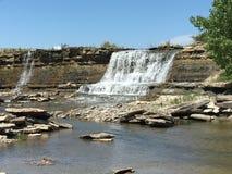 Водопад Flinthills Стоковые Изображения RF
